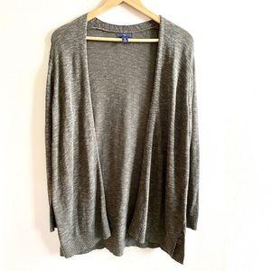 Gap Olive Green Long Sleeve Open Cardigan Sweater